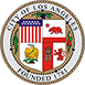 Logo of the City of Los Angeles, founded in 1781